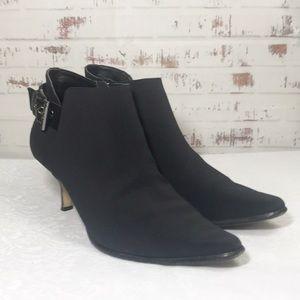 Donald J. Pliner Black Booties Size 7 1/2 M